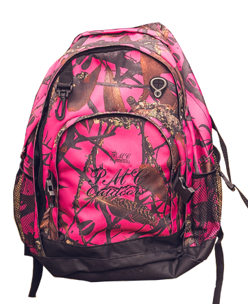 Pink Camo Backpack - PMC Outdoors